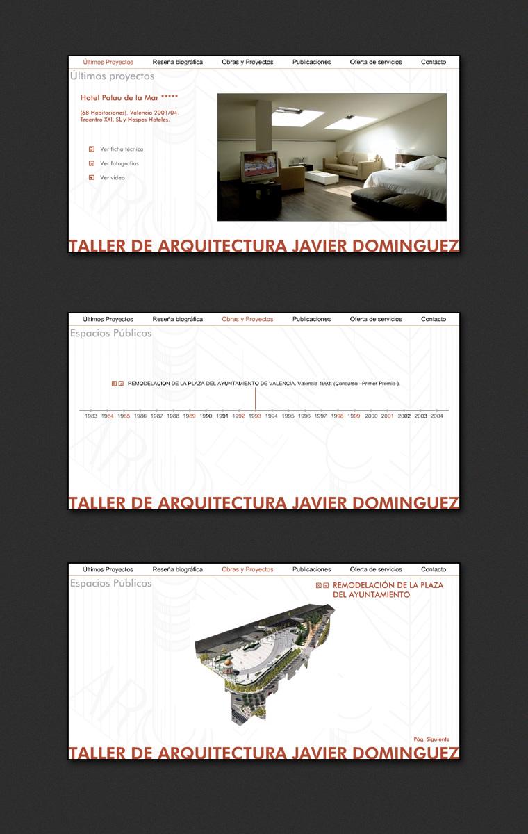 Visitar Página Web Javier Domínguez Arquitecto