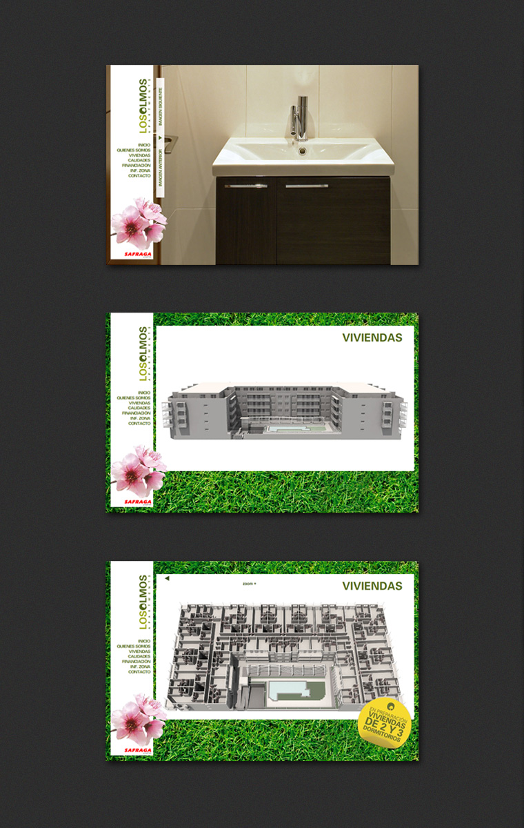 Diseño Web Apartments Los Olmos Safraga